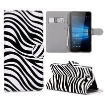 Zebra Bookcase Hoesje Microsoft Lumia 950