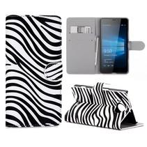 Zebra Bookcase Hoesje Microsoft Lumia 950 XL