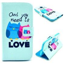 Owl love Bookcase hoes Motorola Moto X (2nd Gen)