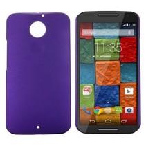 Paars hardcase hoesje Motorola Moto X (2nd Gen)