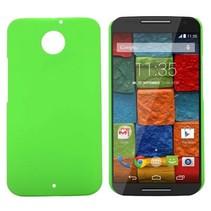 Groen hardcase hoesje Motorola Moto X (2nd Gen)
