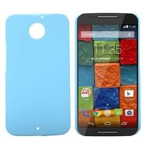Blauw hardcase hoesje Motorola Moto X (2nd Gen)