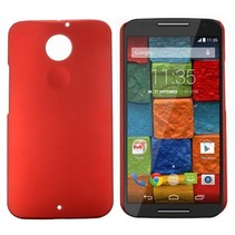 Rood hardcase hoesje Motorola Moto X (2nd Gen)