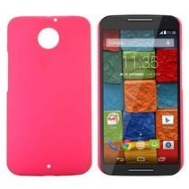 Roze hardcase hoesje Motorola Moto X (2nd Gen)