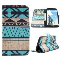 Azteken Bookcase hoes Motorola Nexus 6