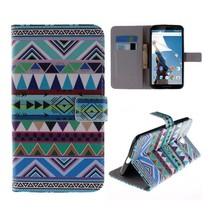 Aztec Bookcase hoes Motorola Nexus 6