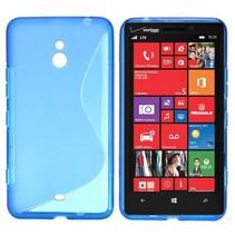 Blauw S-design TPU hoesje Nokia Lumia 1320