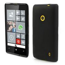 Zwart TPU hoesje Nokia Lumia 520