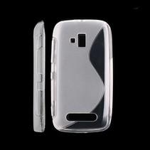 S-line TPU hoesje transparant Nokia Lumia 610