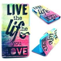 Life quote Bookcase hoes Nokia Lumia 630 / 635