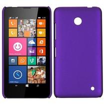 Paars hardcase hoesje Nokia Lumia 630 / 635