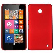Rood hardcase hoesje Nokia Lumia 630 / 635
