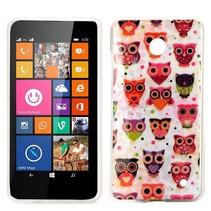 Uiltjes design TPU hoesje Nokia Lumia 630 / 635