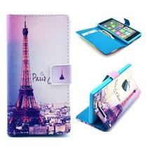Paris je t'aime Bookcase hoes Nokia Lumia 830