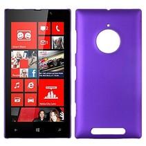 Paars hardcase hoesje Nokia Lumia 830