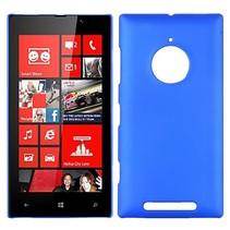 Blauw hardcase hoesje Nokia Lumia 830
