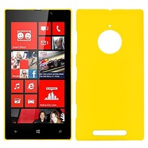 Geel hardcase hoesje Nokia Lumia 830