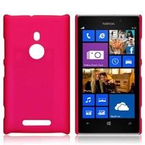 Roze hardcase hoesje Nokia Lumia 925