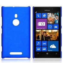 Blauw hardcase hoesje Nokia Lumia 925