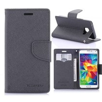 Fancy Diary Zwart Bookcase Hoesje Samsung Galaxy A3 2016