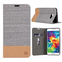 Grijs Duocolor Bookcase Hoesje Samsung Galaxy A3 2016