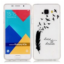 Dare to Dream TPU Hoesje Samsung Galaxy A3 2016