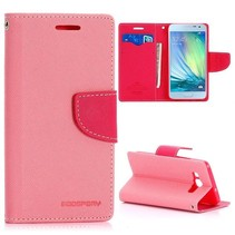 Fancy diary roze Bookcase hoes Samsung Galaxy A3