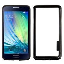 Zwarte hybrid bumper Samsung Galaxy A3