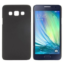 Zwart hardcase hoesje Samsung Galaxy A3