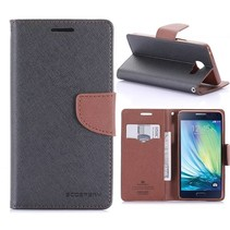 Diary Series Zwart Bookcase Hoesje Samsung Galaxy A5 2016