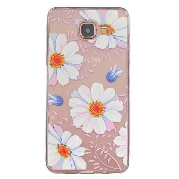 Witte Bloemen TPU Hoesje Samsung Galaxy A5 2016