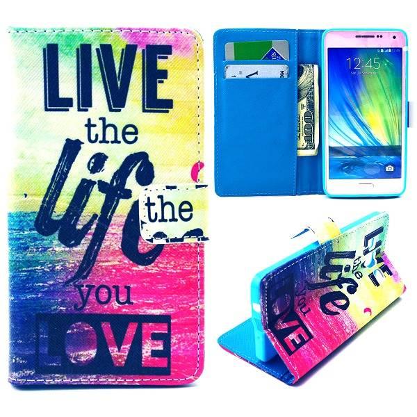 Life quote Booktype  hoes Samsung Galaxy A5