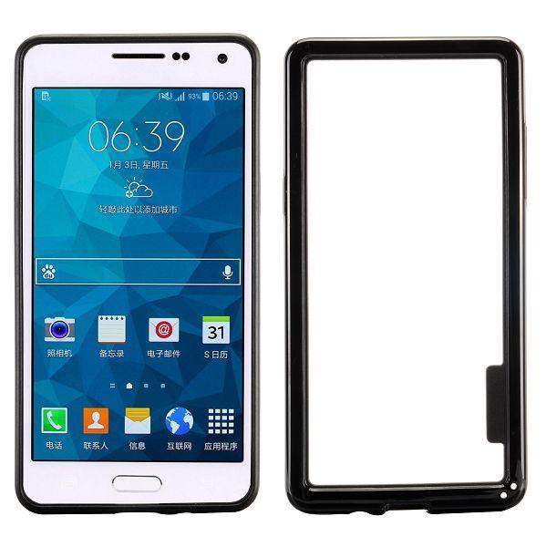 Zwarte hybrid bumper Samsung Galaxy A5