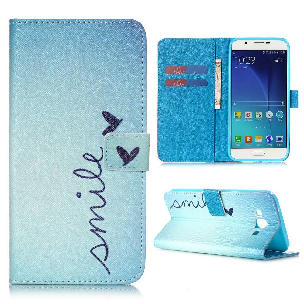 Smile Bookcase hoes Samsung Galaxy A8