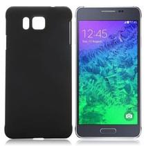 Zwart hardcase hoesje Samsung Galaxy Alpha