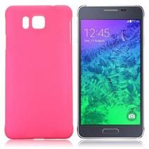 Roze hardcase hoesje Samsung Galaxy Alpha