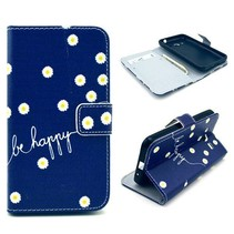 Be happy Bookcase hoes Samsung Galaxy Core 2