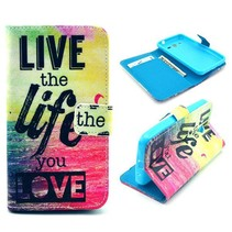 Life quote Bookcase hoes Samsung Galaxy Core 2