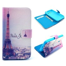 Parijs Bookcase hoes Samsung Galaxy Core 2