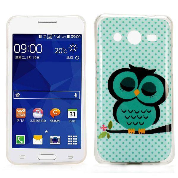 Slapende uil TPU hoesje Samsung Galaxy Core 2