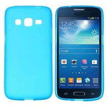 Lichtblauw TPU hoesje Samsung Galaxy Express 2
