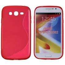 Rood TPU S-design hoesje Samsung Galaxy Grand