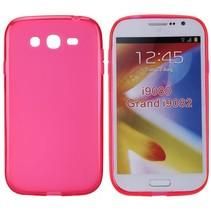 Roze TPU hoesje Samsung Galaxy Grand