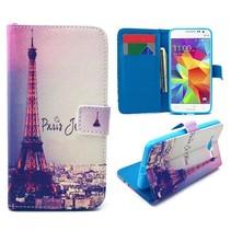 Parijs Bookcase hoes Samsung Galaxy Grand Prime