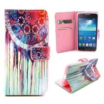 Dromenvanger Bookcase hoes Samsung Galaxy Grand Prime