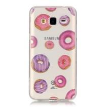Donuts TPU Hoesje Samsung Galaxy J3 / J3 2016