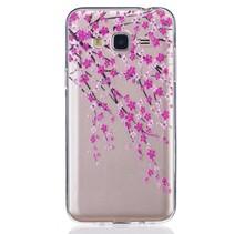 Bloesem TPU Hoesje Samsung Galaxy J3 / J3 2016