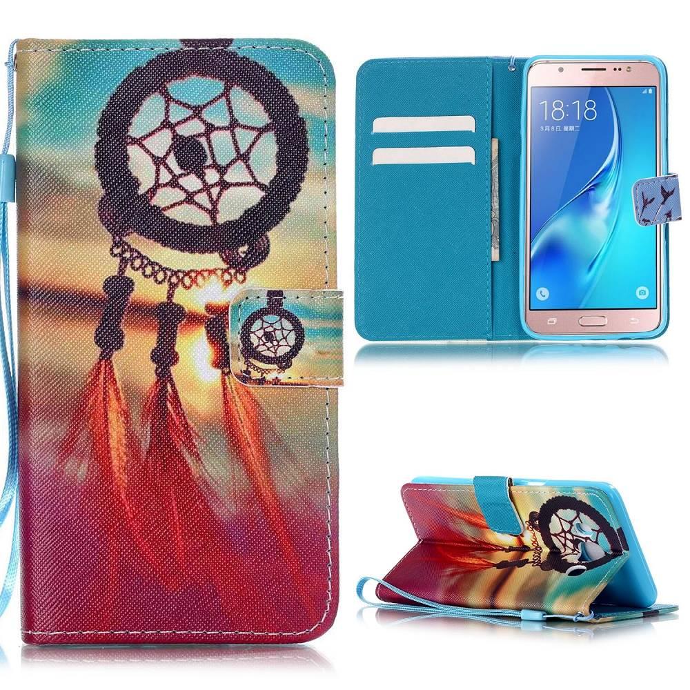 Dreamcatcher Bookcase Hoesje Samsung Galaxy J5 2016