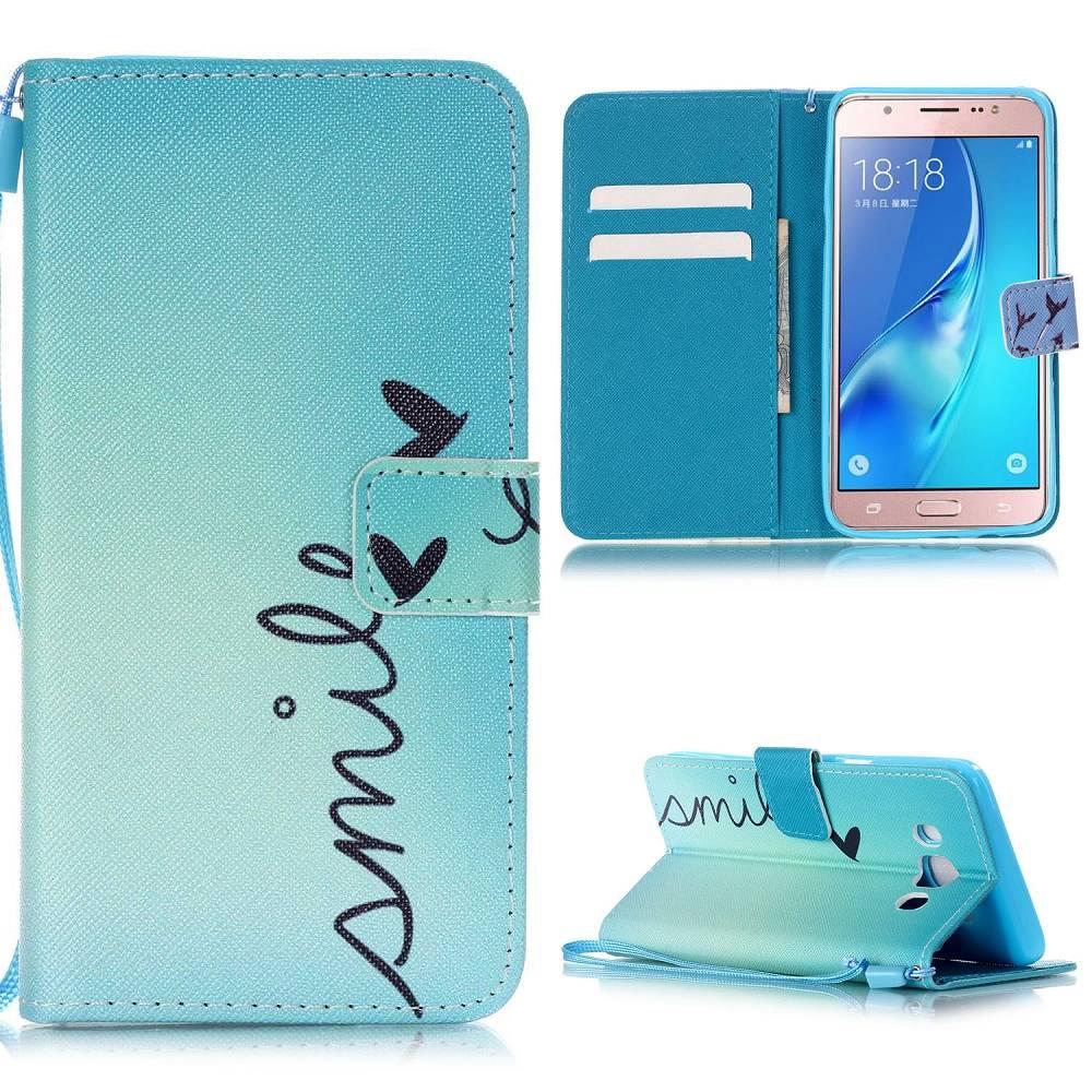 Smile Bookcase Hoesje Samsung Galaxy J5 2016