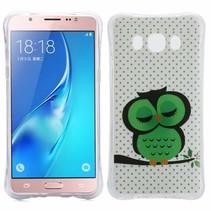Slapende Uil TPU Hoesje Samsung Galaxy J5 2016